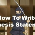 The Ultimate Formula for Writing Powerful Thesis Statements