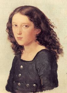 The young Felix Mendelssohn Bartholdy at twelve years old.