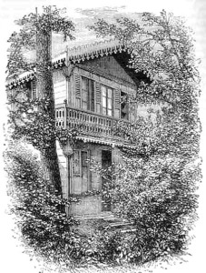 Charles Dickens' Swiss Chalet.