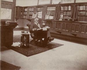 Lew in Study