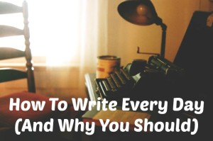 Faulkner's Typewriter | How to write every day