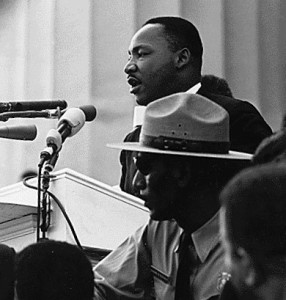 Martin Luther King I have a dream public speaking